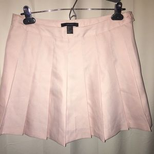 Pastel Baby Pink Tennis Skirt NEW WITH TAGS